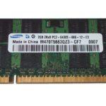 Sodimm ddr2 2GB PC2-6400